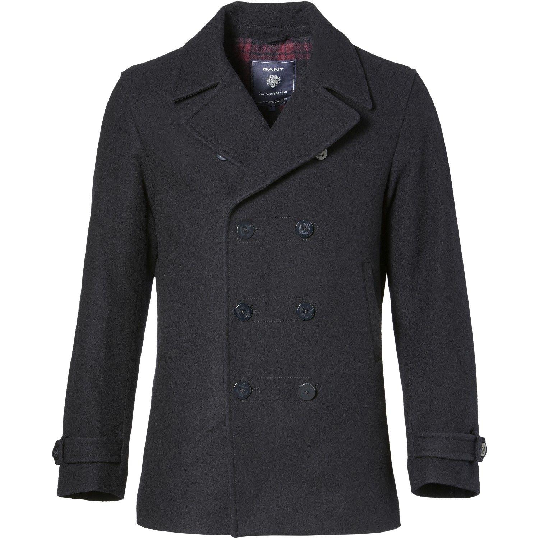 gant classic pea coat