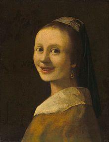 Imitator of Vermeer, Theo van Wijngaarden, The Smiling Girl, 1925. National Gallery of Art, Washington DC