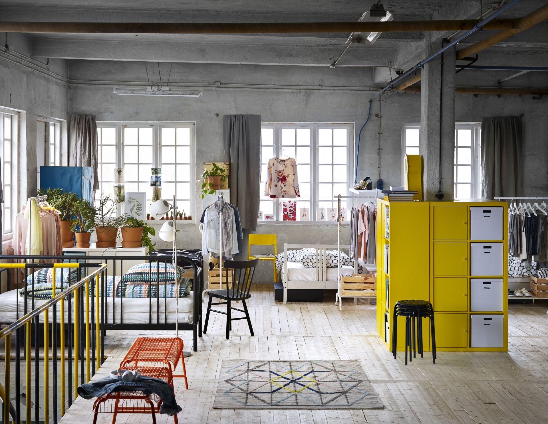 KALLAX open kast met deuren | #IKEAcatalogus #nieuw #2017 #IKEA ...