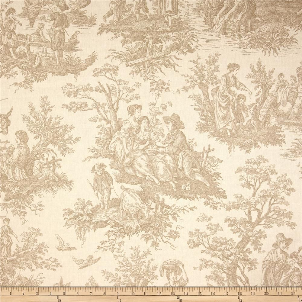 Waverly Country Life Toile Linen from Screen