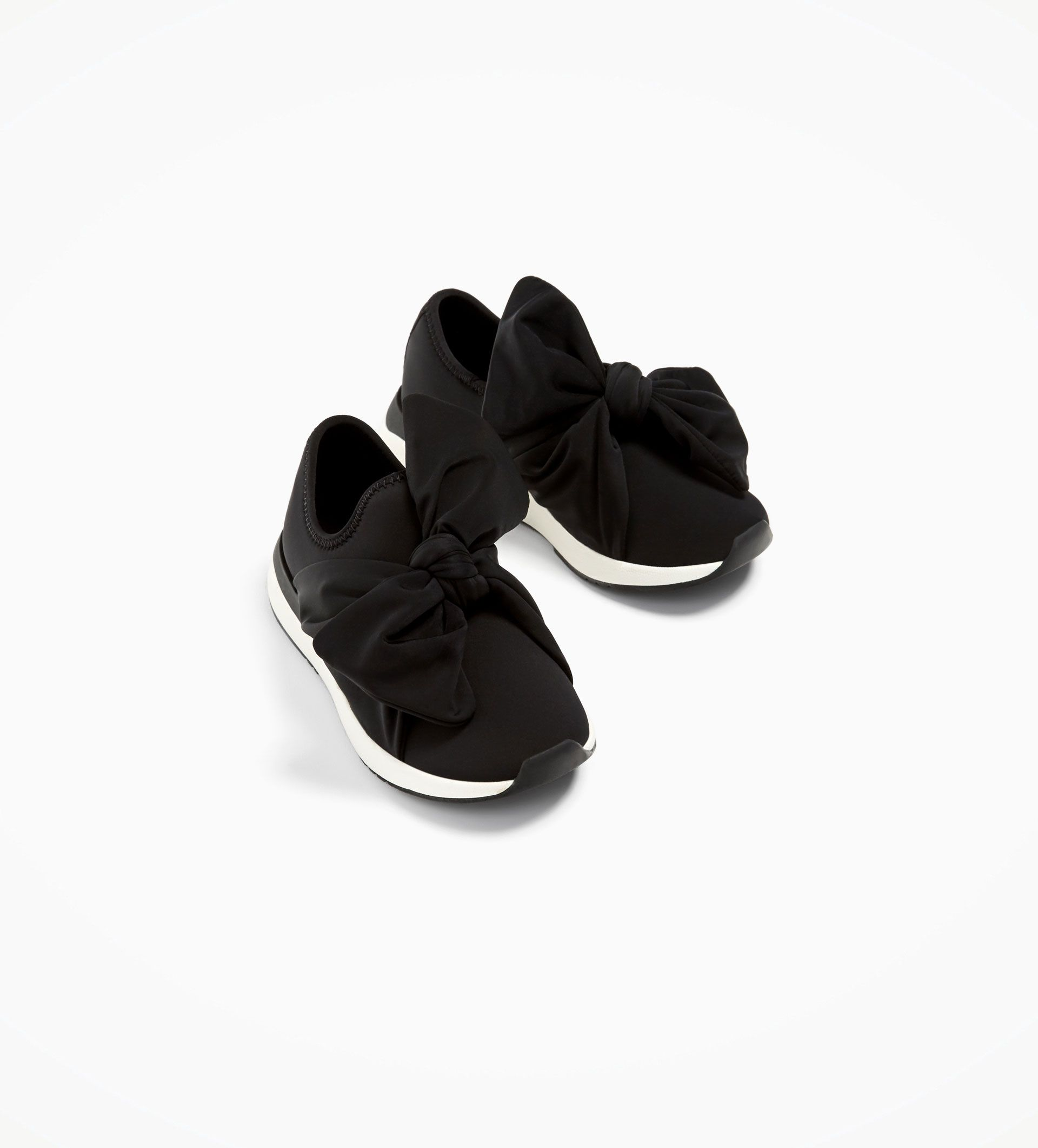 BOWS from Zara | Sneakers, Girls shoes
