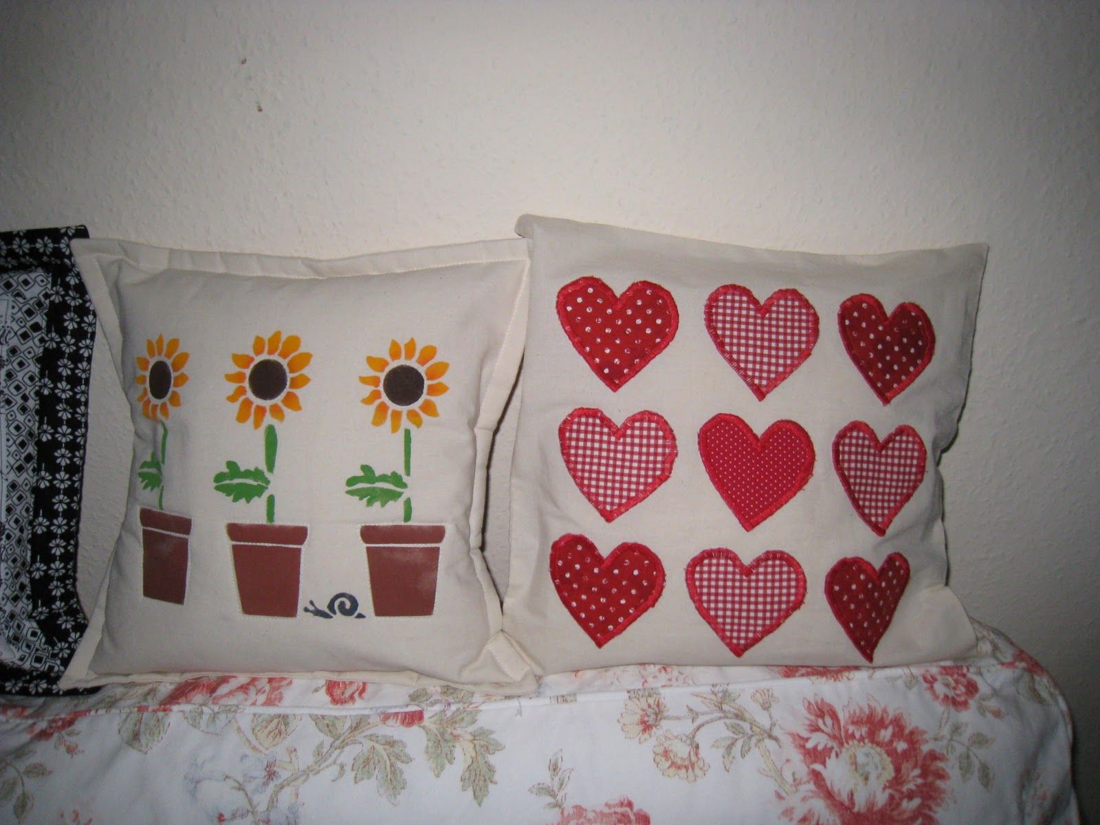 Homemade cushions - print and sew ideas
