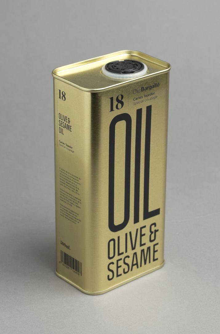 Også mulig inspiration til materiale  Olive & Sesame Oil packaging by Lo Siento Studio.