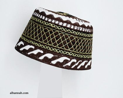 0ab3ee55254 Mens Deluxe Embroidered Kufi me605
