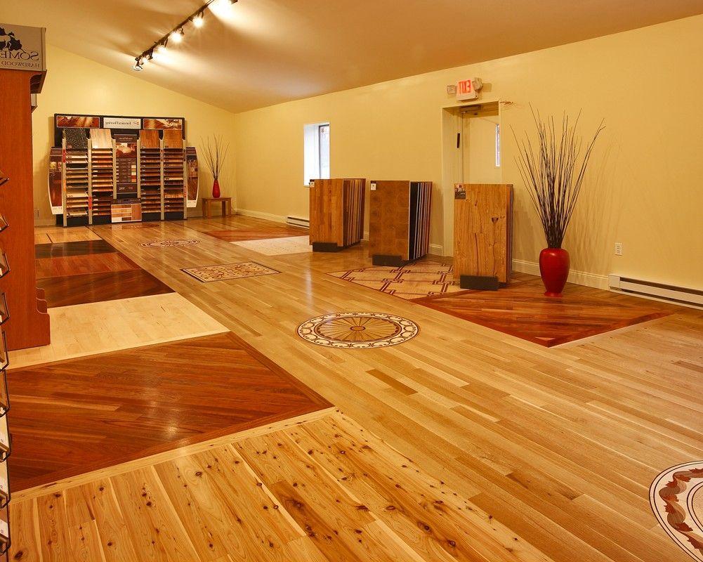 Wood Floor Installation and Refinishing Rustic hardwood