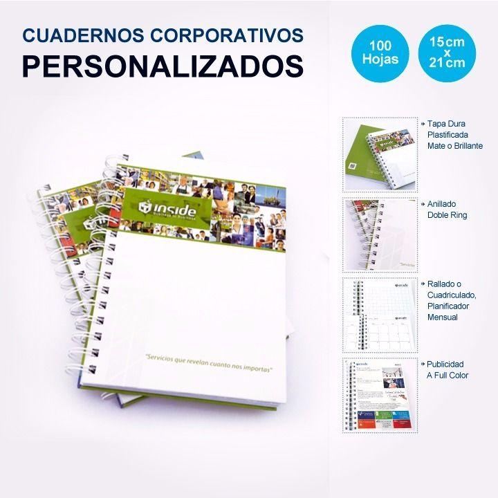 #CUADERNOS #CORPORATIVOS Diseñados y personalizados con la imagen de su…
