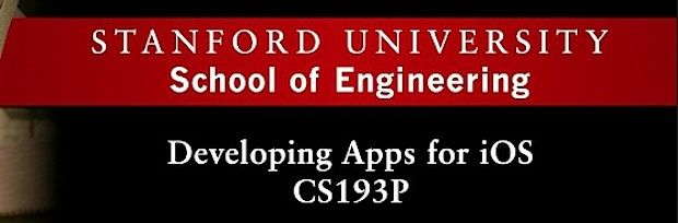 stanford-ios-apps-course - free from iTunes U  | School