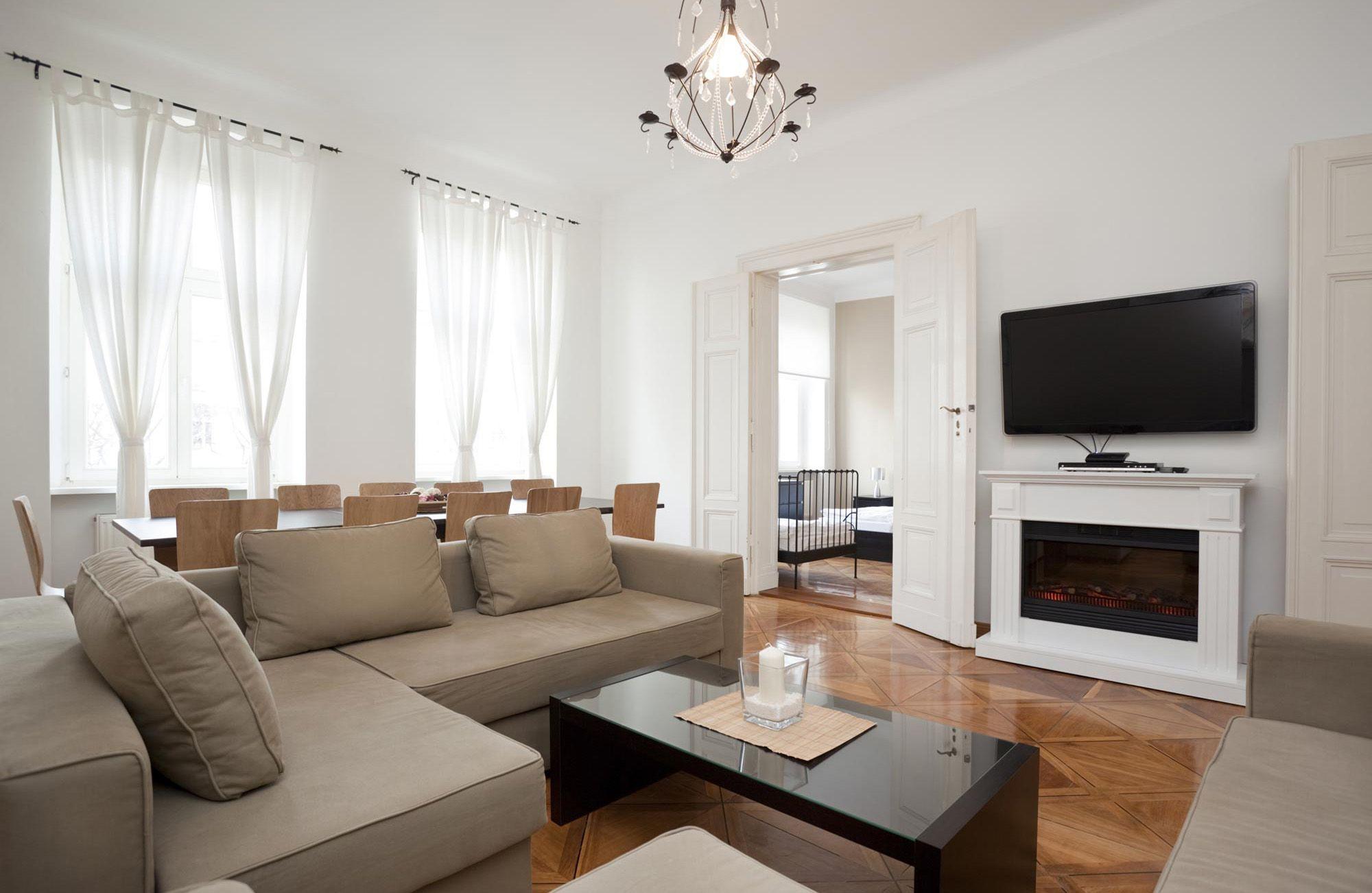 Cortina estilo minimalista salon pinterest cortinas for Mueble salon minimalista