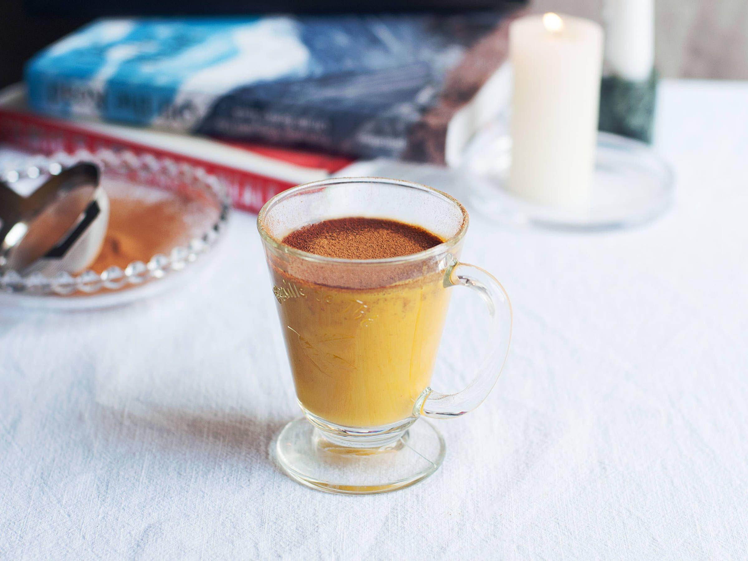Turmeric Almond Drink Recipe With Video Kitchen Stories Rezept Kurkuma Rezepte Lecker