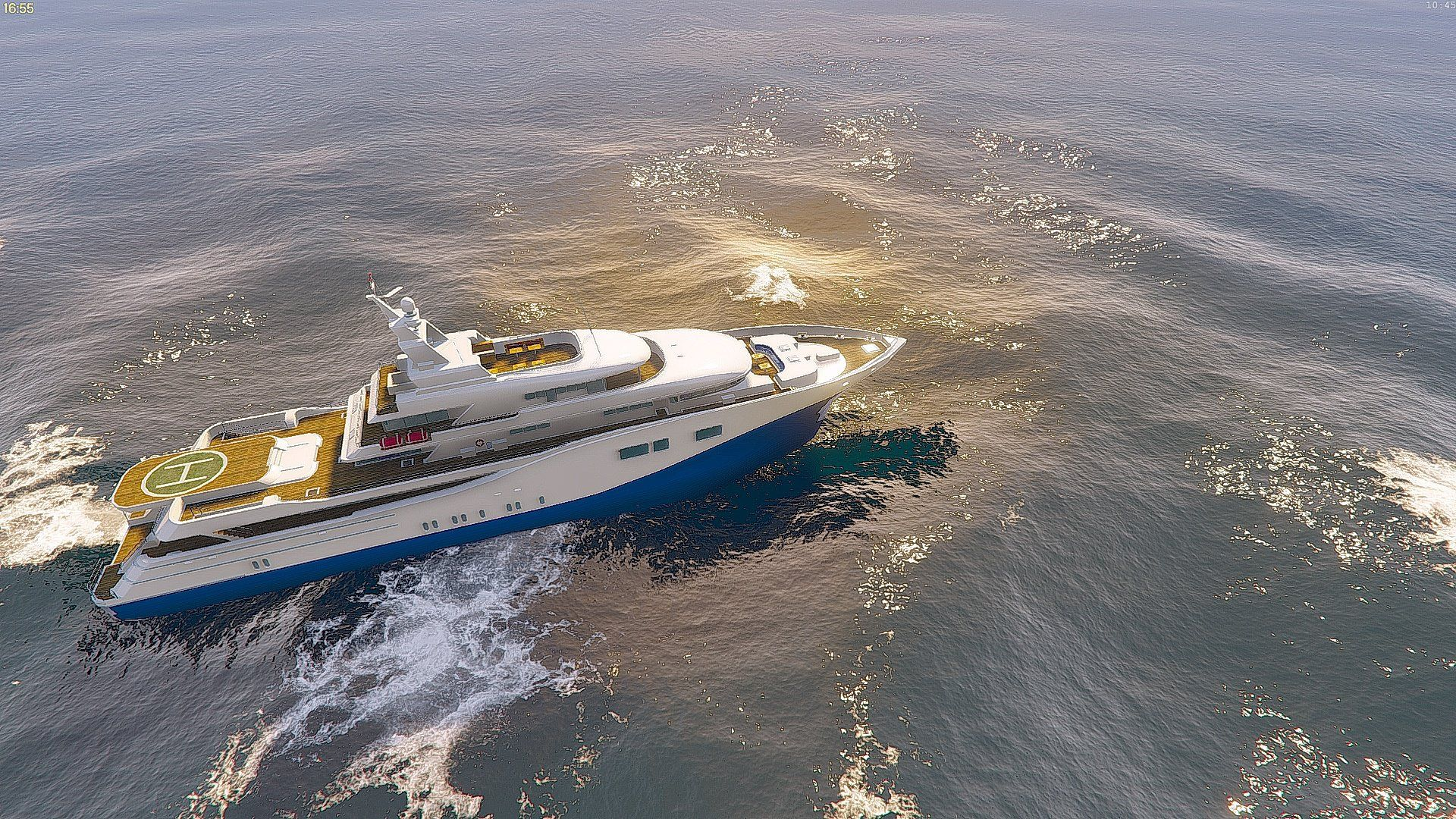 Drive Your GTA V Yacht In Single Player | Single player, Yacht, Gta