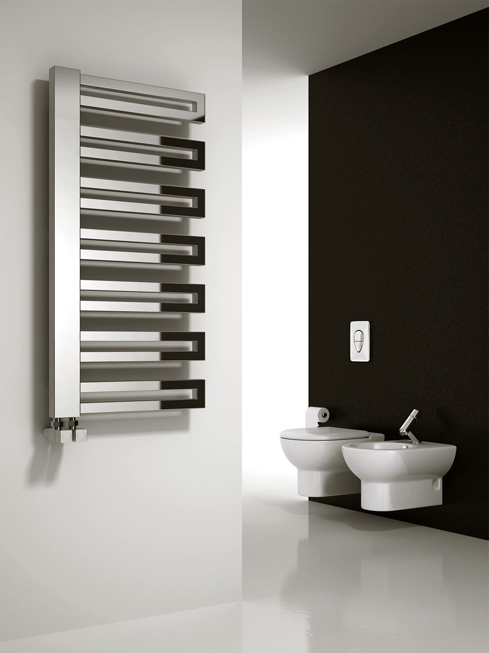 Electric bathroom towel radiators - Reina Ginosa Towel Radiator Modern Towel Radiators