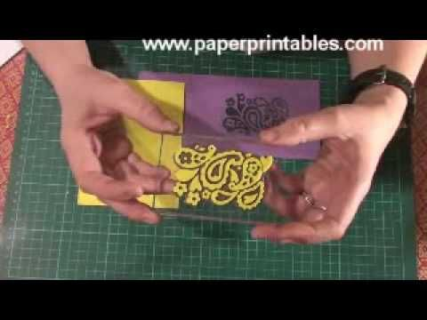 how to make your own stamps tutorial using fun foam sheet