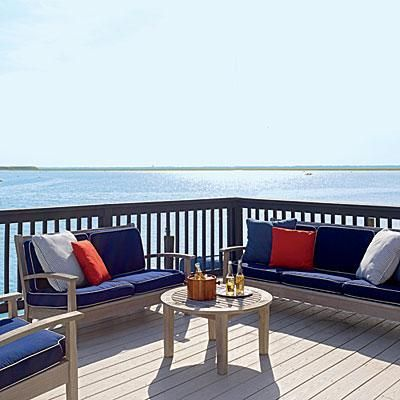 Maritime Home Makeover Deck Decorating Home Outdoor Decor