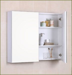 Wall Mounted Medicine Cabinet Without Mirror  Httpkyotofan Extraordinary Bathroom Wall Mirrors Inspiration Design