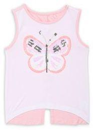 Design History Little Girl's Butterfly Top
