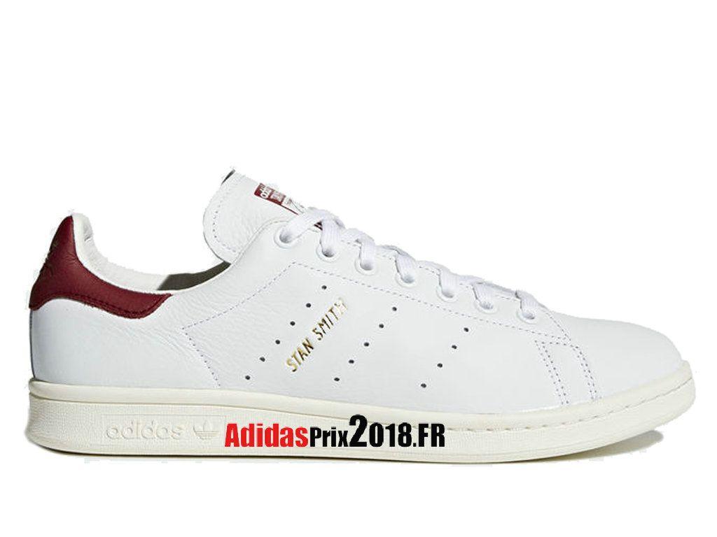 Adidas Originals Stan Smith Bleu Blanc Rouge CQ2195 Chaussures Adidas Sportswear Prix Pour Homme