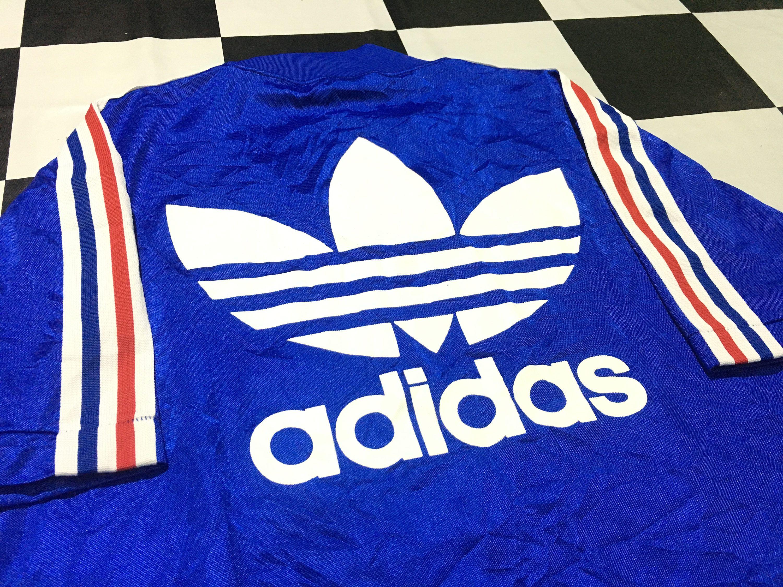 Vintage ADIDAS Jersey shirt Big Logo cKCiAa