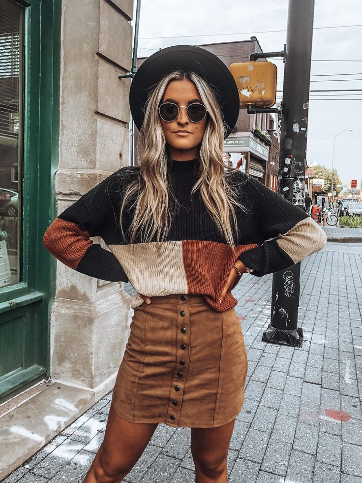 Campfire Colorblock Sweater – Black/Rust/Natural – Fashion – #BlackRustNatural #Campfire #Colorblock #Fashion #sweat