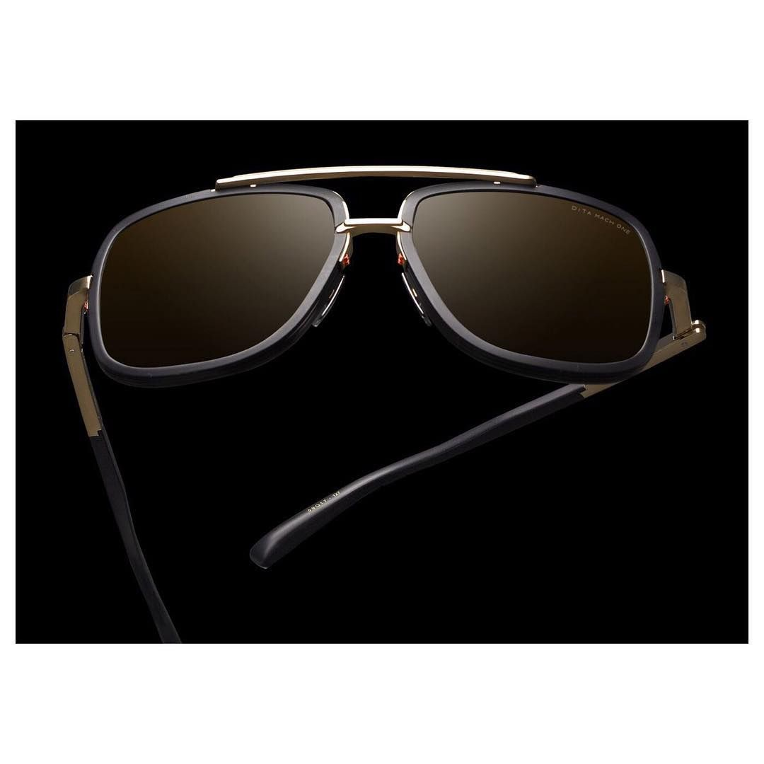 """210df2d51ec DITA Eyewear on Instagram  """"A frame we all love. The  DITAEyewear Mach-One  in black and gold. What is your number one this  ValentinesDay """""""