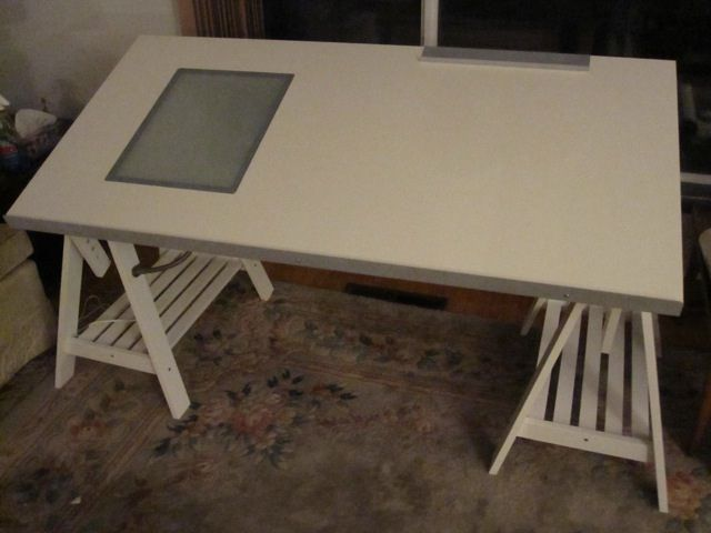 Ikea Blecket Table Top + Artur Trestles No.3 | By P. Madden