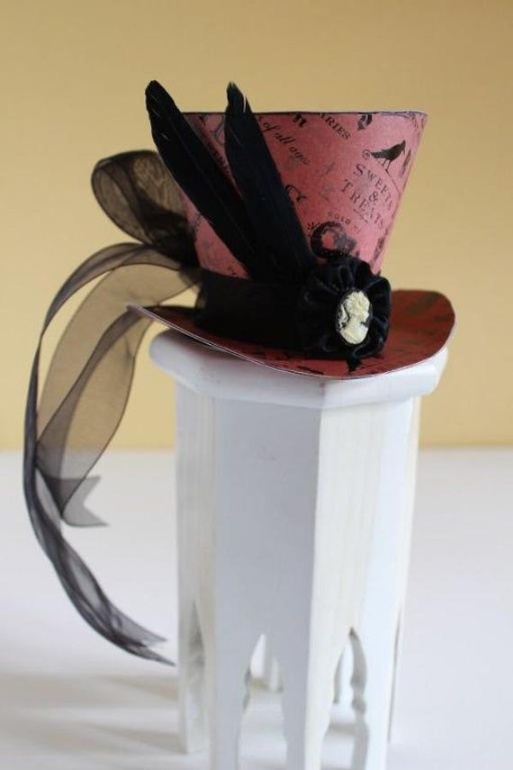 Mad Hatter Top Hat Fascinator Tutorial Mad Hatter Top Hat Fascinator Tutorial Kacy Roberts kacythe1 Halloween 2019 I needed a Mad Hatter fascinator for a tea party and pr...