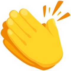 Clapping Hands Sign Emoji In 2020 Emoji Signs Emoji Clapping Hands Emoji