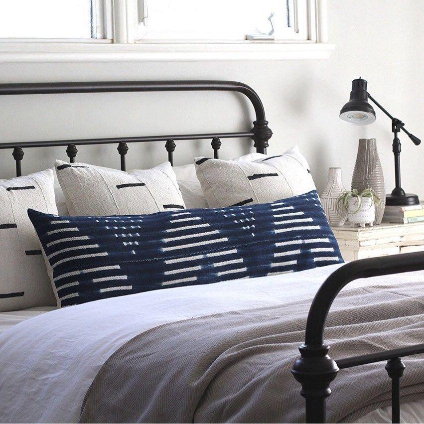 Extra Long Lumbar Pillow Covers Great For King Beds