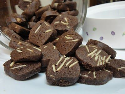 Jom Masak Jom Makan Makan Biskut Coklat Badam Makanan Jalanan Resep Biskuit Kue Lezat