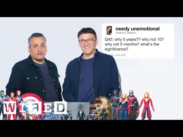 The Russo Brothers Answer Avengers_ Endgame Questions From