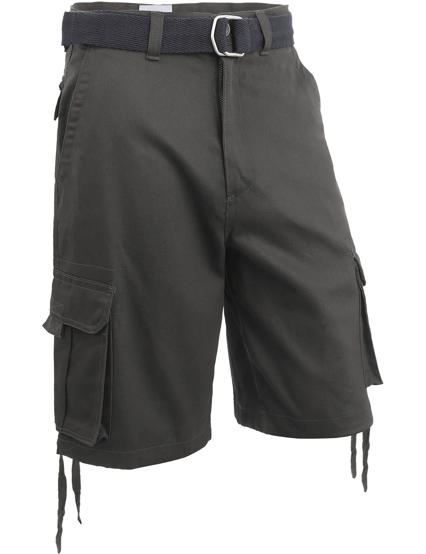 b90dd72b49 Mens Twill Cargo Shorts with Belt (30-40) | Products | Shorts, Short ...