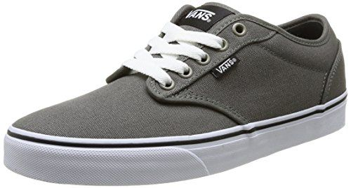 ff1fd8bc4b1 Vans Atwood Mens Canvas Skate Shoes Charcoal grey white 13 M Vans http