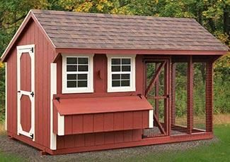 Charmant Chicken Coops | Adirondack Storage Barns