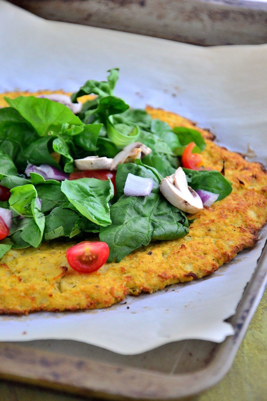 How to Transform a Head of Cauliflower Into Pizza Crust
