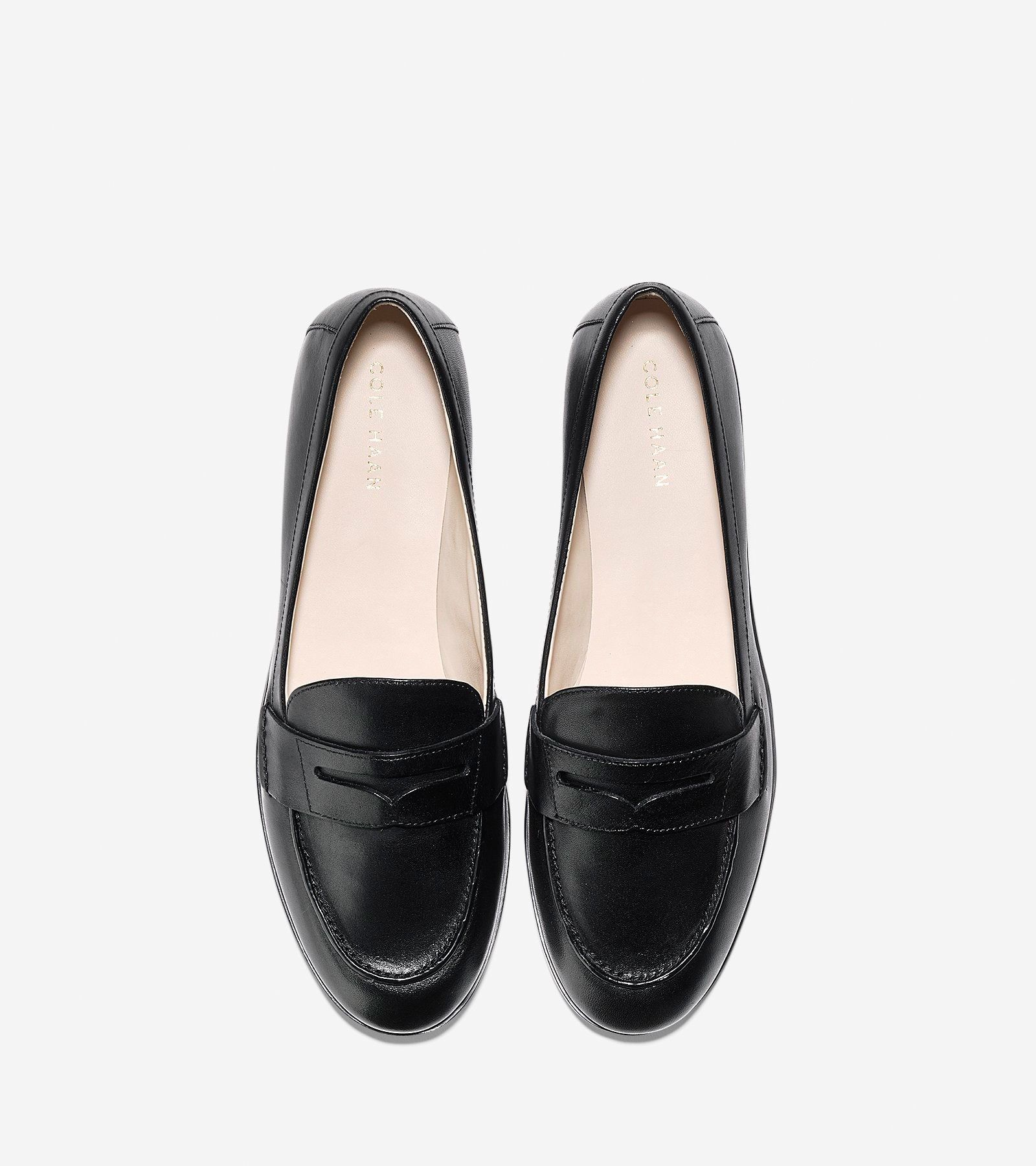 3150803224b Cole Haan Women s Pinch Grand Penny Loafer - Black 7.5 B Medium