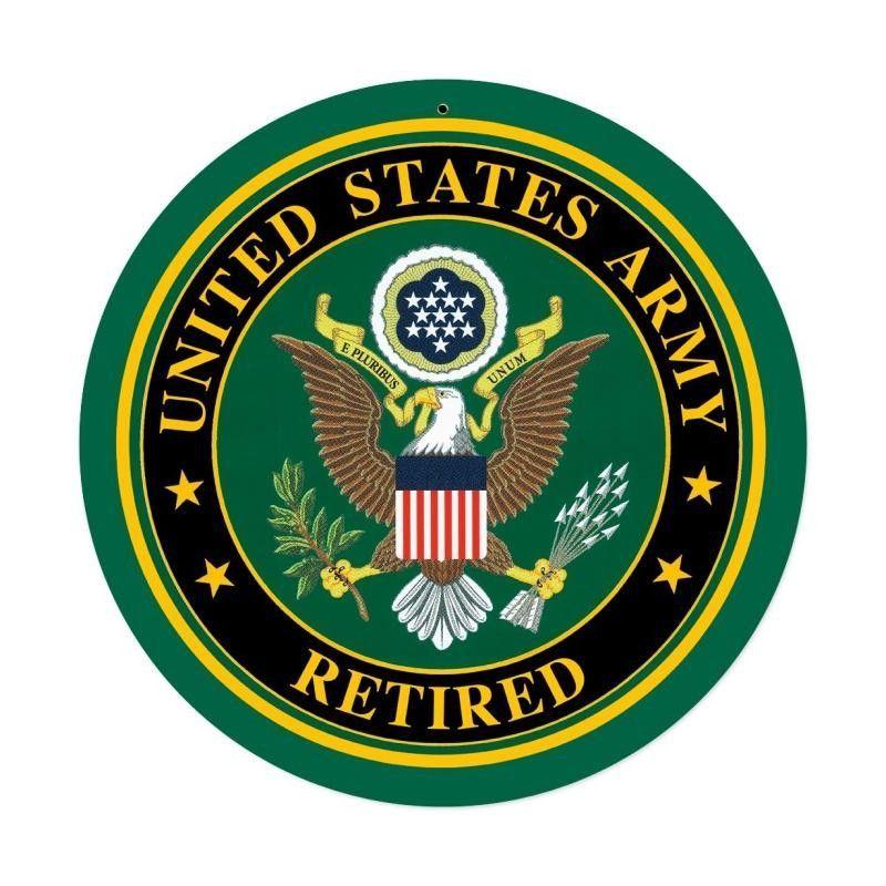 Army retired sign army symbol military logo army women