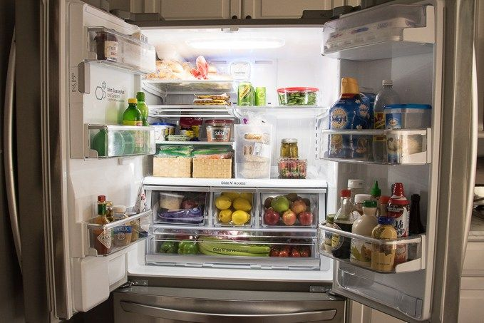 How To Organize A French Door Refrigerator French Door