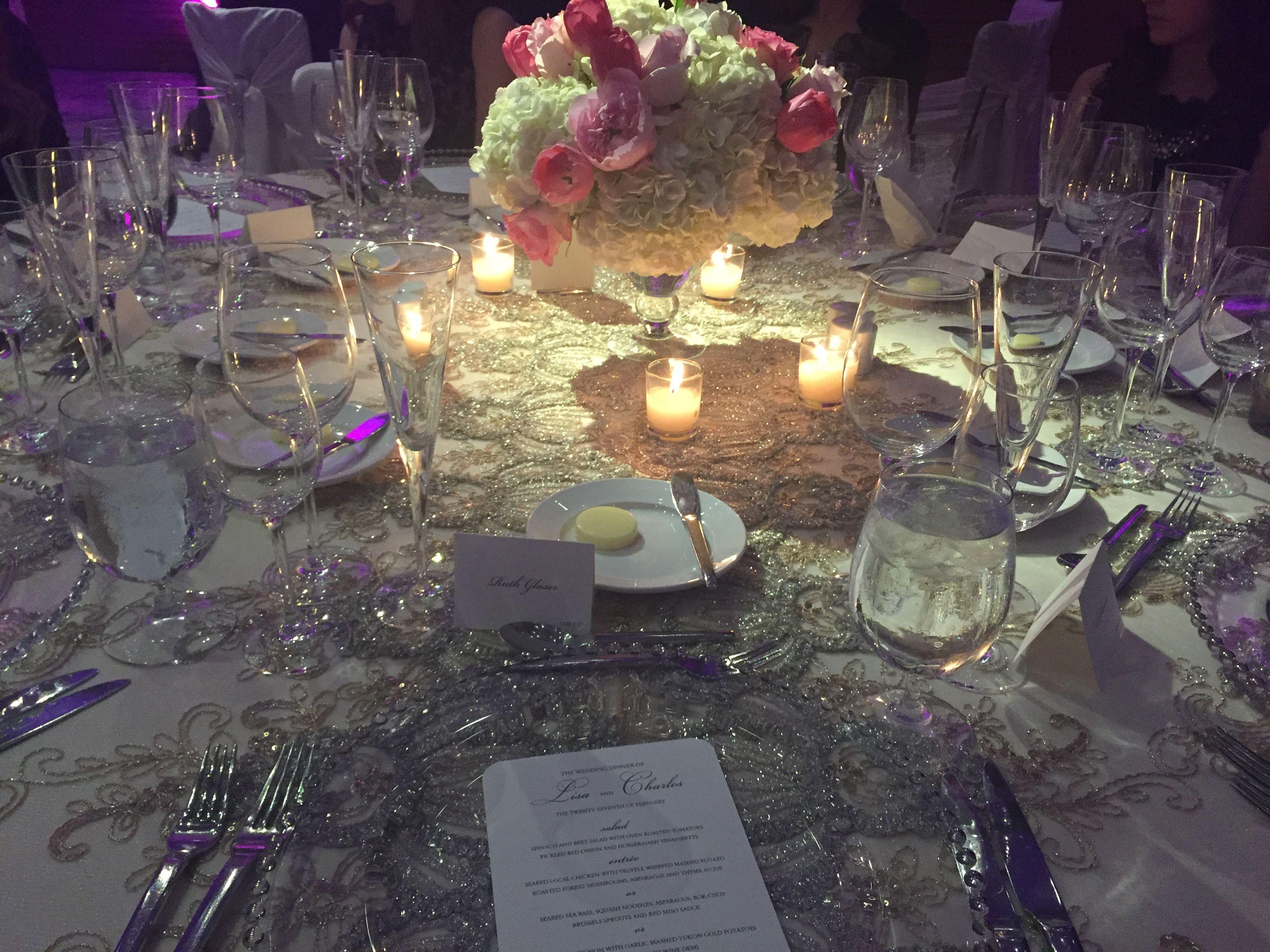 Glam Wedding Table