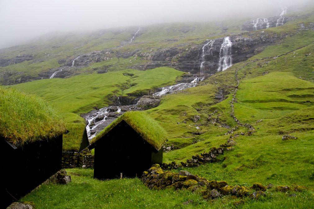 Saksun village, Streymoy, Faroe Islands (Denmark)