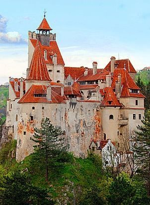 Dracula's Castle in Romania... aka The Bran Castle ;)