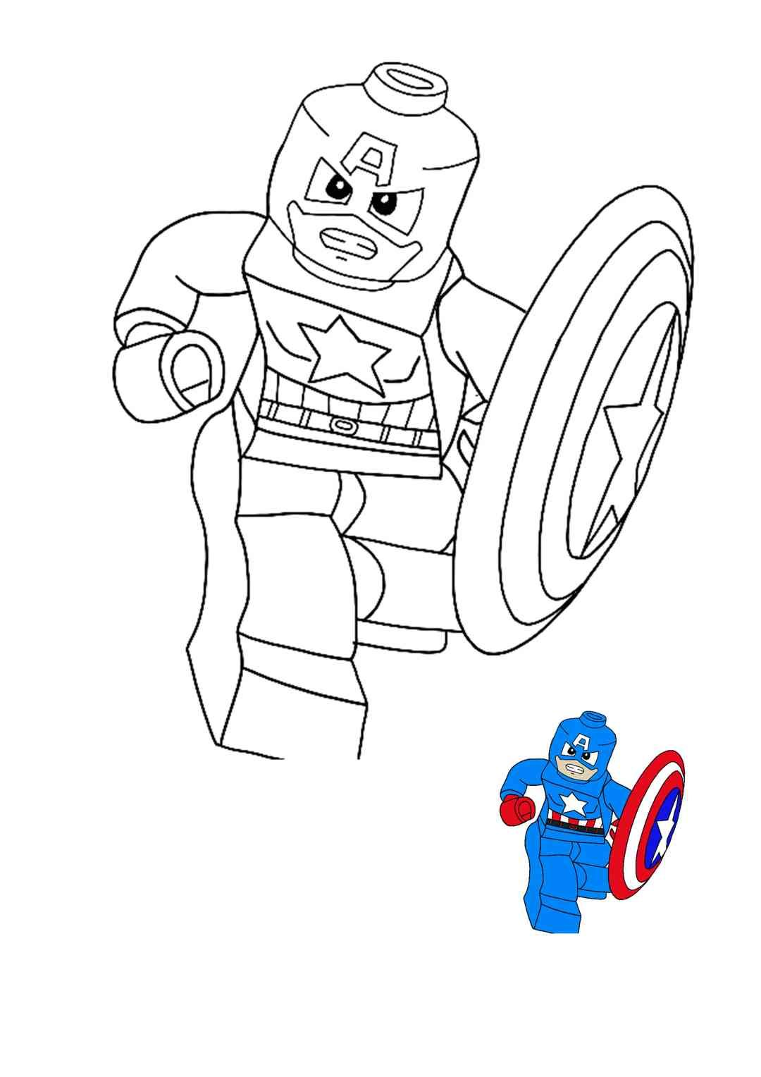 Lego Captain America Coloring Pages Captain America Coloring Pages Free Printable Coloring Sheets Lego Coloring Pages