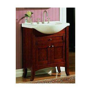 Amazon Com Shaker Eurotop Bath Vanity Fairmont Designs Bathroom Vanity 125 Eu26 26 Quot W X 12