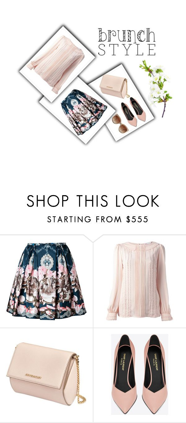 """Brunch Style"" by mary03l on Polyvore featuring RED Valentino, Givenchy, Yves Saint Laurent and STELLA McCARTNEY"