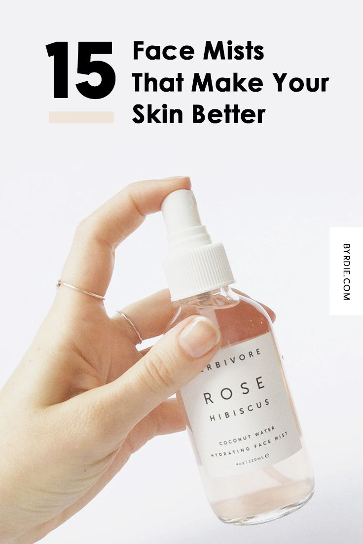 The Best Face Mists To Help Keep Your Skin Glowing And Hydrated Face Mist Beauty Care Natural Skin Care