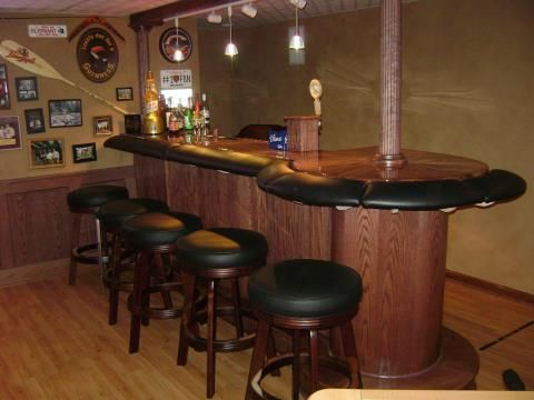 How to Build Padded Bar Arm Rails | Booth and Bar | Pinterest | Arms ...