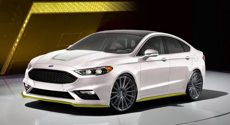 Two Custom Ford Fusion Sports Heading To Sema W Video With