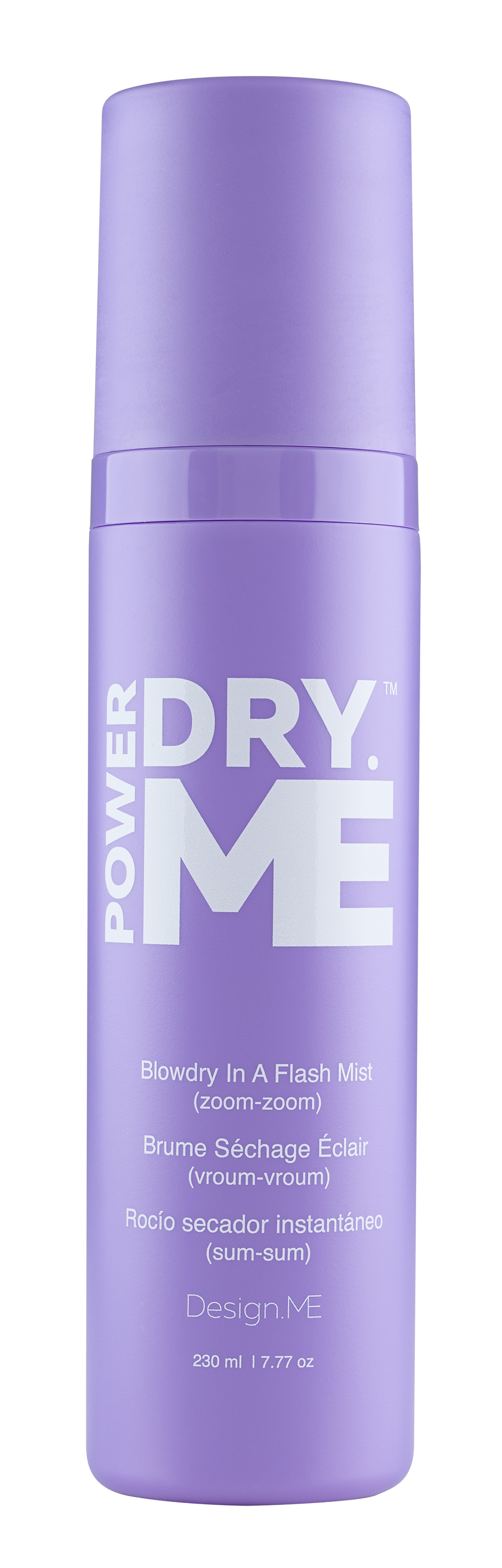 Design.ME Products Puff.ME & Power Dry.ME. Damp hair
