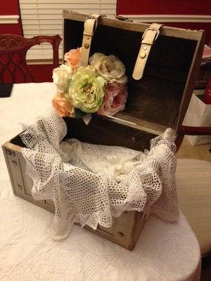 My Diy Card Box Trunk Weddings Style And Decor Wedding Forums