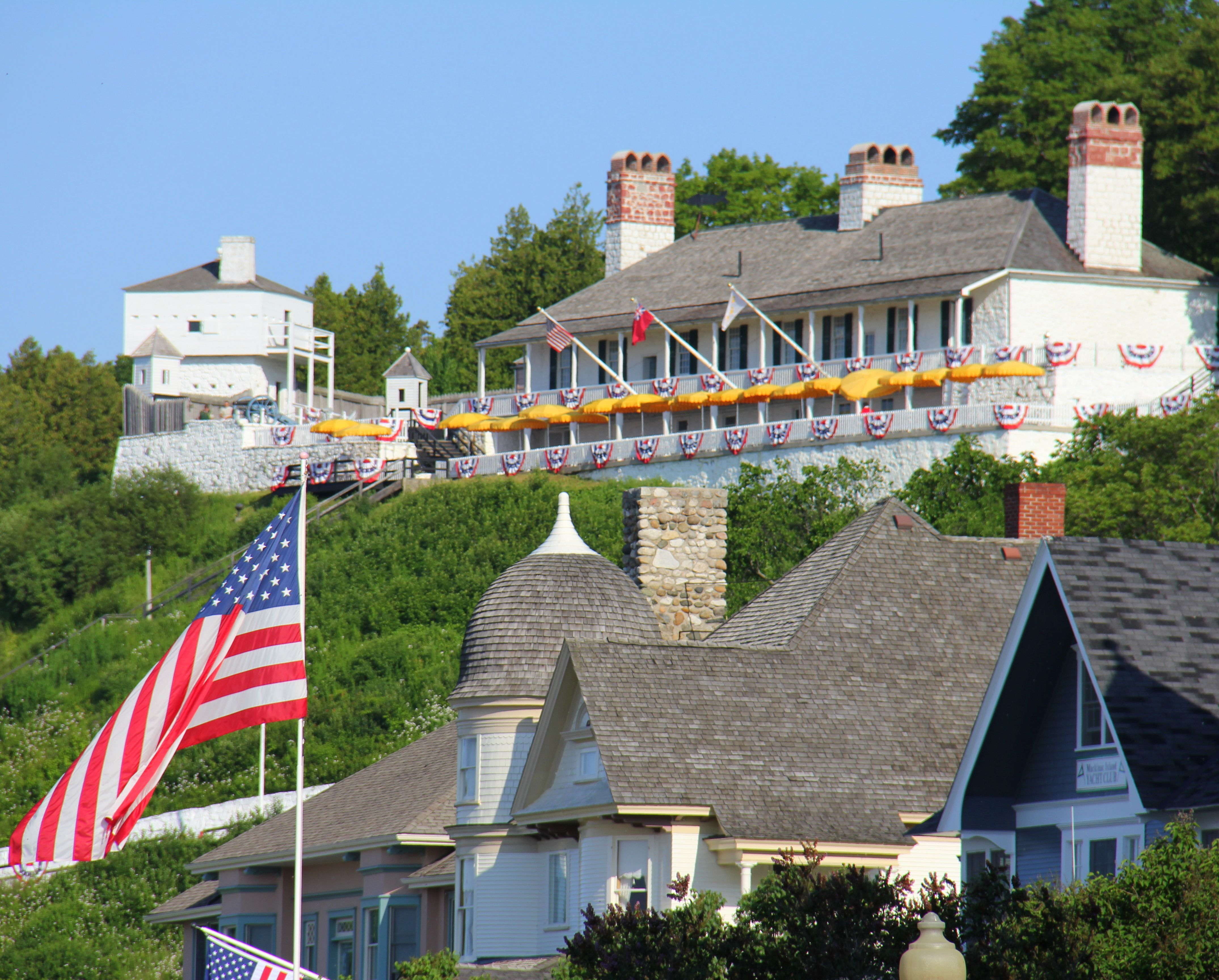 Visit The Fort On July 4th Mackinac Island Mackinac Island Mackinac Island