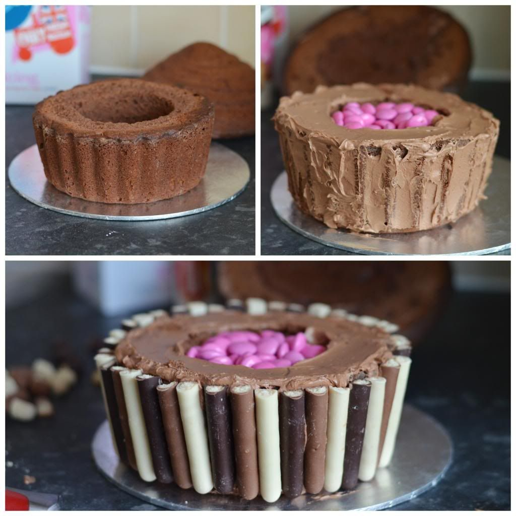 Giant Chocolate Cupcake With A Surprise Inside Giant Cupcake Cakes Giant Cupcake Recipes Cupcake Smash Cakes