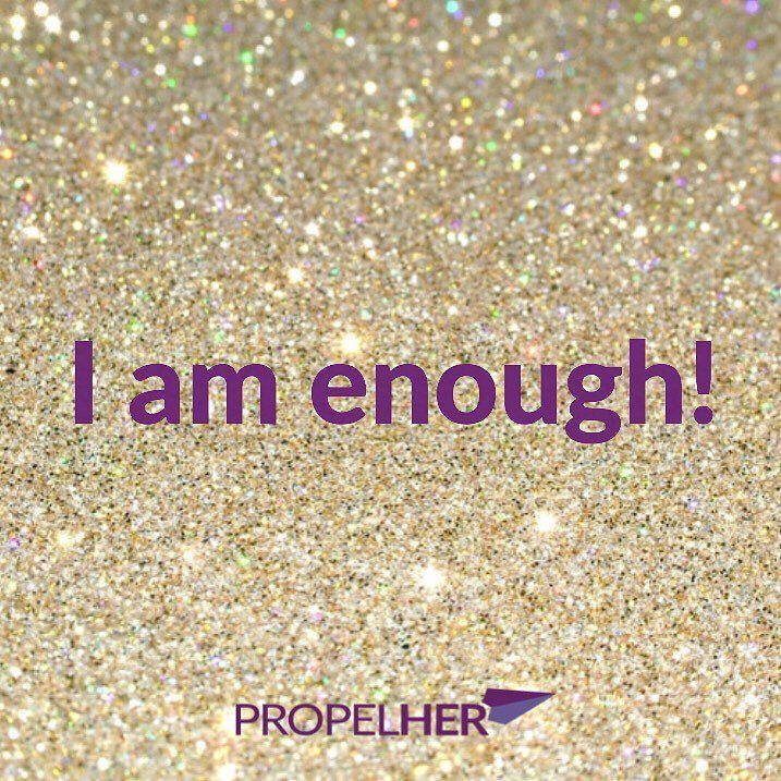 """Don't ever forget that you are enough! Look in the mirror and tell yourself """"I AM ENOUGH"""". It is a new week and a chance to be amazing! What are your aims for the week? #motivationalmonday #affirmation #mondaymotivation by Ed Zimbardi http://edzimbardi.com"""